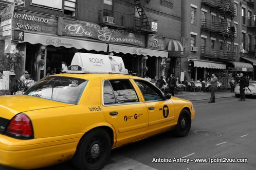 taxi New York desaturation partielle