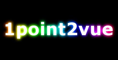 Un texte avec un effet de lumi re multicolore avec gimp for Gimp effet miroir