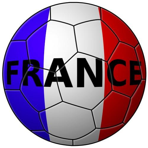 un ballon de foot aux couleurs dun pays