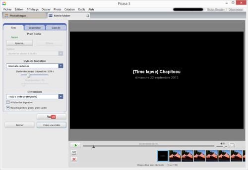 picasa-video