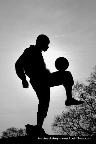 foot contre jour
