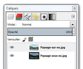 Simuler un filtre d grad avec gimp 1point2vue for Afficher fenetre calque gimp