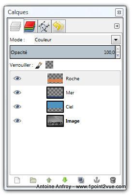 Coloriser une photo noir et blanc avec gimp 1point2vue for Afficher fenetre calque gimp