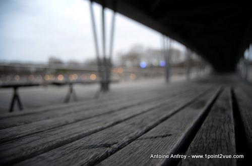 Un pont flou