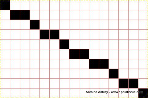 image 10x15 diagonale